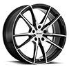 TSW P0A Alloy Wheels Gloss Black w/Machine Cut Face