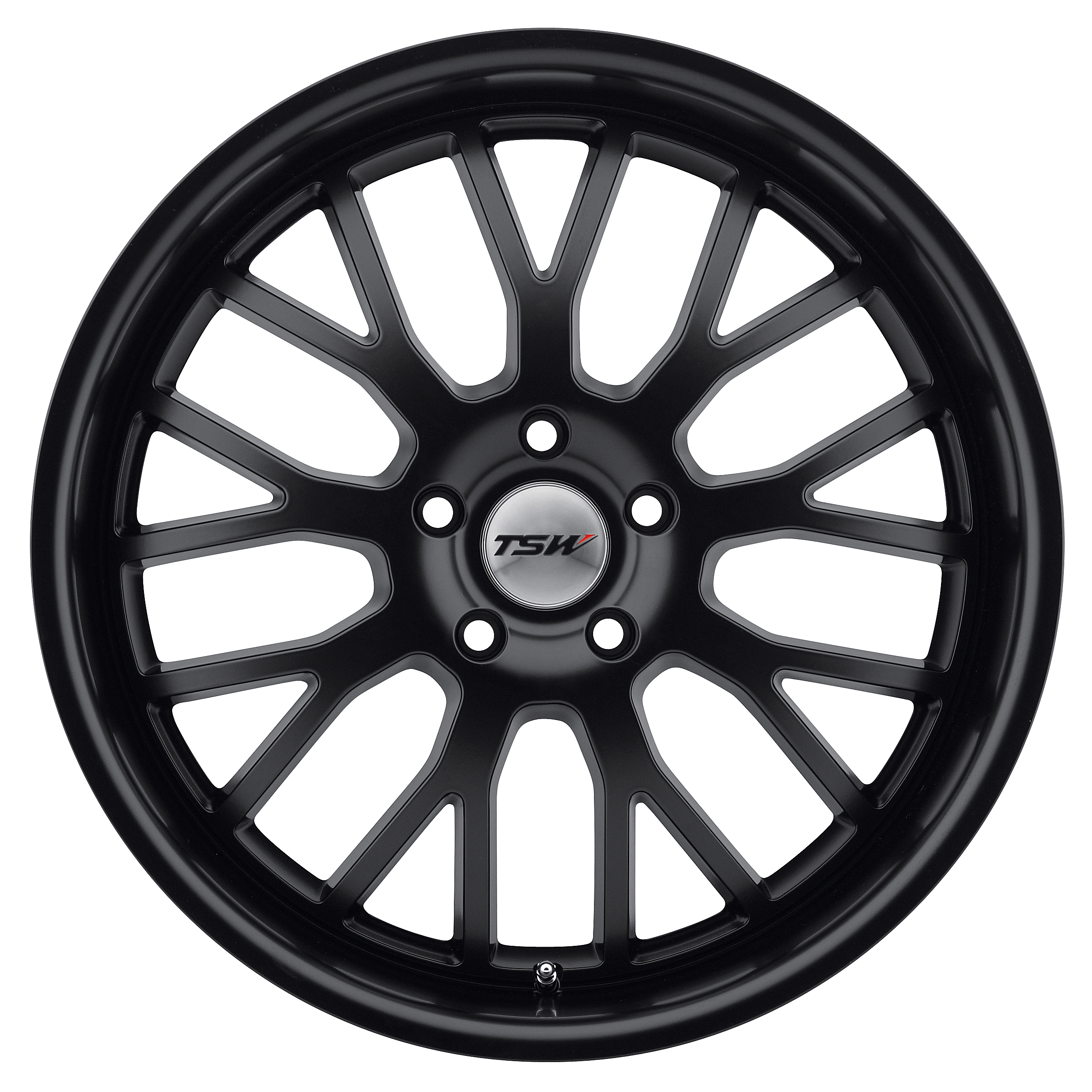 TSW Tremblant Wheel with Matte Black Finish 20 x 10. inches //5 x 120 mm, 25 mm Offset