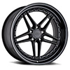 TSW Ascari Alloy Wheels Matte Black w/ Gloss Black Lip