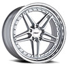 TSW Ascari Alloy Wheels Silver w/ Mirror Cut Face & Lip