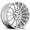 TSW Mallory 5 Alloy Wheels Hyper Silver Mirror Cut Face