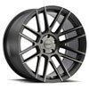 TSW Mosport Alloy Wheels Matte Black with Machine Face and Dark Tint