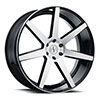 TSW Journey Alloy Wheels Gloss Black with Machined Face