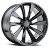 TSW Aileron Alloy Wheels Metallic Gunmetal