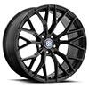 TSW Antler Alloy Wheels Matte Black w/Gloss Black Face