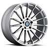 TSW Aviatic Alloy Wheels Silver w/Mirror Cut Face