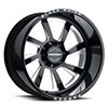 TSW Blaster Forged Alloy Wheels Gloss Black w/ Milled Spokes