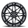 Twister Forged Gloss Black w/ Milled Spokes