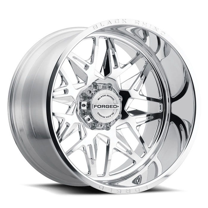 Twister Forged Truck Rims by Black Rhino