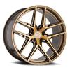 TSW Cairo Alloy Wheels Bronze w/ Brushed Bronze Face