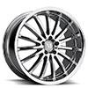 TSW Millennium Alloy Wheels Chrome