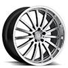 TSW Millennium Alloy Wheels Hyper Silver w/ Mirror Cut Lip
