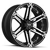 TSW T01 Alloy Wheels Flat Black w/ Machined Face & Chrome Inserts