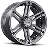 TSW T01 Alloy Wheels Satin Gunmetal w/ Black Inserts