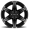 T12 Satin Black w/ Milled Spokes and Brushed Inserts
