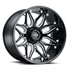 TSW T3B Alloy Wheels Gloss Black with Milled Spoke
