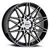 TSW P3C Alloy Wheels Gloss Black w/ Machined Face