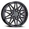 TSW P3C Alloy Wheels Semi Gloss Black