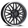 TSW P4C Alloy Wheels Gloss Black w/ Machined Lip