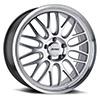 TSW P4C Alloy Wheels Silver w/ Machined Face & Lip
