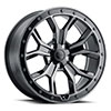 TSW Morland Alloy Wheels Gloss Metallic Black w/ Brushed Tinted Face & Black Bolts