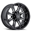 """Sierra Gloss black with Milled Spokes (10"""")"""