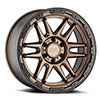 TSW Apache Alloy Wheels Matte Bronze w/ Black Lip Edge & Black Bolts
