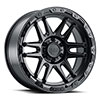 TSW Apache Alloy Wheels Matte Black w/ Black Bolts