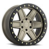 TSW Attica Alloy Wheels Matte Bronze with Black Lip Edge and Brass Bolts