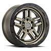 TSW Barstow Alloy Wheels Matte Bronze w/ Matte Black Ring