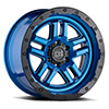 TSW Barstow Alloy Wheels Dearborn Blue w/ Black Lip Edge