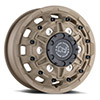 TSW Destroyer Alloy Wheels Desert Sand (Front)