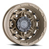 TSW Destroyer Alloy Wheels Desert Sand (Rear)