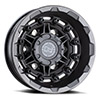 TSW Destroyer Alloy Wheels Matte Gunmetal (Rear)
