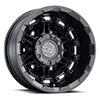 TSW Destroyer Alloy Wheels Textured Matte Black (Rear)