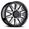 TSW Excursion Alloy Wheels Gloss Black w/ Mirror Face