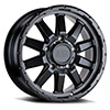 TSW Excursion Alloy Wheels Matte Black