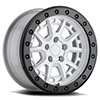 TSW Gravel Beadlock Alloy Wheels Gloss White w/ Black Ring & Black Bolts