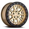 TSW Gravel Beadlock Alloy Wheels Gold w/ Black Ring & Bolts