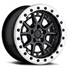 TSW Gravel Beadlock Alloy Wheels Matte Black w/ Machined Ring & Black Bolts