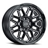 TSW Hollister Alloy Wheels Gloss Black w/ Milled Spokes