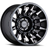 "TSW Mission Alloy Wheels Matte Black w/ Machined Tinted Spokes (11.5"")"