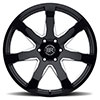 Mozambique Gloss Black Milled Spokes