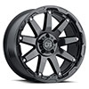 "TSW Oceano Alloy Wheels Gloss Gunblack w/Stainless Bolts (9.5"")"