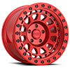 TSW Primm Alloy Wheels Candy Red w/ Black Bolts