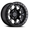 TSW Riot Beadlock Alloy Wheels Matte Black w/ Black Ring & Black Bolts