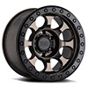 TSW Riot Beadlock Alloy Wheels Matte Bronze w/ Black Ring & Black Bolts