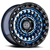 TSW Sentinel Alloy Wheels Cobalt Blue w/ Black Edge