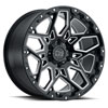 TSW Shrapnel Alloy Wheels Gloss Black w/ Milled Spokes