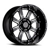 """Sierra Gloss black with Milled Spokes (11.5"""")"""
